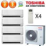 toshiba  Toshiba SHORAI Quadri-Split RAS-5M34U2AVG-E + 3 X RAS-M07PKVSG-E... par LeGuide.com Publicité