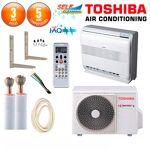 toshiba  TOSHIBA Pack Climatiseur à faire poser Console Toshiba RAS-B10UFV-E... par LeGuide.com Publicité