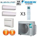 daikin  Daikin Tri-split Réversible 3MXM52N + 2 X CTXM15N + FVXM25F Tri-Split... par LeGuide.com Publicité