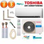 toshiba  TOSHIBA Pack Climatiseur à faire poser TOSHIBA DAISEIKAI RAS-10G2KVP-E... par LeGuide.com Publicité