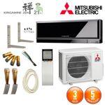 mitsubishi electric  MITSUBISHI ELECTRIC Pack Climatiseur Mitsubishi MSZ-EF35VGB... par LeGuide.com Publicité