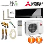mitsubishi electric  MITSUBISHI ELECTRIC Pack Climatiseur Mitsubishi MSZ-EF25VGB... par LeGuide.com Publicité