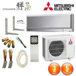 mitsubishi electric  MITSUBISHI ELECTRIC Pack Climatiseur Mitsubishi MSZ-EF25VGS... par LeGuide.com Publicité