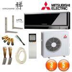 mitsubishi electric  MITSUBISHI ELECTRIC Pack Climatiseur Mitsubishi MSZ-EF50VGB... par LeGuide.com Publicité