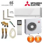 mitsubishi electric  MITSUBISHI ELECTRIC Pack Climatiseur Mitsubishi MSZ-EF50VGW... par LeGuide.com Publicité