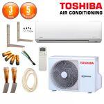 toshiba  TOSHIBA Pack Climatiseur TOSHIBA SUZUMI-10 + RAS-10N3AV-E Pack... par LeGuide.com Publicité