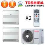 toshiba  Toshiba Bi-Split RAS-2M18U2AVG-E + 2 X RAS-B10U2FVG-E Bi-Split... par LeGuide.com Publicité