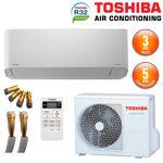toshiba  TOSHIBA Climatiseur Prêt à poser Mural TOSHIBA Seiya R32 RAS-B16J2KVG-E... par LeGuide.com Publicité