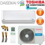 toshiba  TOSHIBA Climatiseur Prêt à poser Mural TOSHIBA DAISEIKAI R32 RAS-16PKVPG-E... par LeGuide.com Publicité