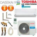toshiba  TOSHIBA Pack Climatiseur Mural TOSHIBA DAISEIKAI R32 RAS-10PKVPG-E... par LeGuide.com Publicité