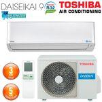 toshiba  TOSHIBA Climatiseur Mural TOSHIBA DAISEIKAI R32 RAS-10PKVPG-E... par LeGuide.com Publicité
