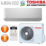 toshiba  TOSHIBA Climatiseur Mural TOSHIBA Seiya R32 RAS-B16J2KVG-E Mono-Split... par LeGuide.com Publicité