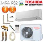 toshiba  TOSHIBA Pack Climatiseur Mural TOSHIBA Seiya R32 RAS-B10J2KVG-E... par LeGuide.com Publicité