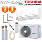 toshiba  TOSHIBA Pack Climatiseur à faire poser TOSHIBA SHORAI 10 + RAS-10PKVSG-E... par LeGuide.com Publicité