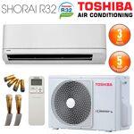 toshiba  TOSHIBA Climatiseur Prêt à poser TOSHIBA SHORAI 16 + RAS-16PAVSG-E... par LeGuide.com Publicité