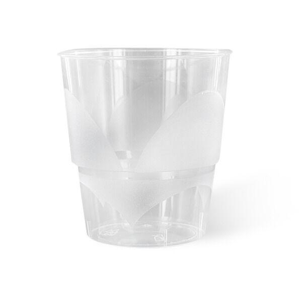 Verre en plastique rigide transparent Club (22 cl) x 20