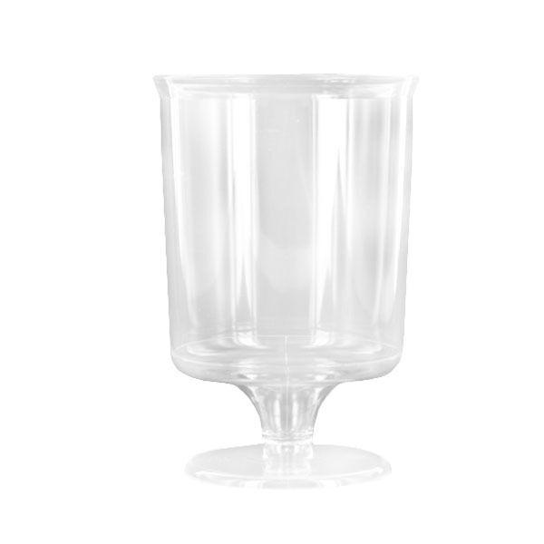 Verre à pied cristal transparent (16 cl) x 10