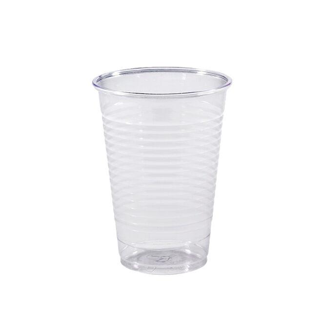 Gobelet en plastique transparent 20 cl x 100