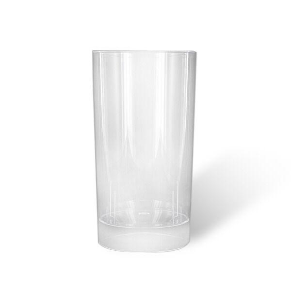 Verre plastique cristal transparent Long Drink (20 cl) x 10