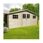 solid  SOLID Abri de jardin en emboîtés bois SOLID 17,65m² Abri de jardin... par LeGuide.com Publicité