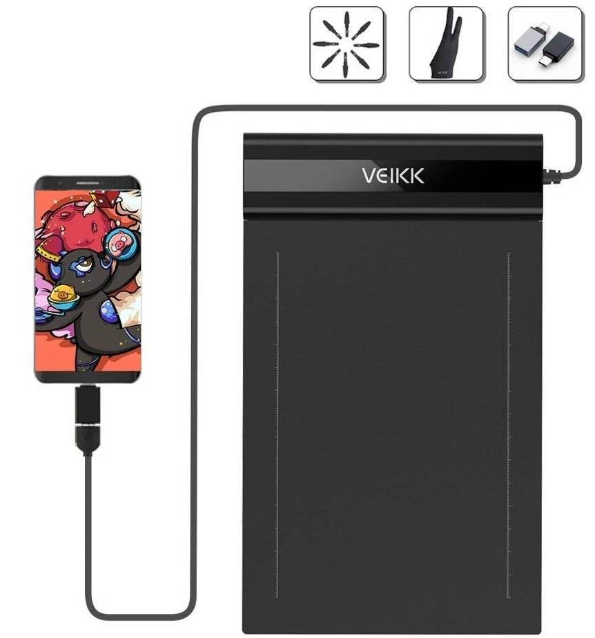 VEIKK Tablette Graphique S640