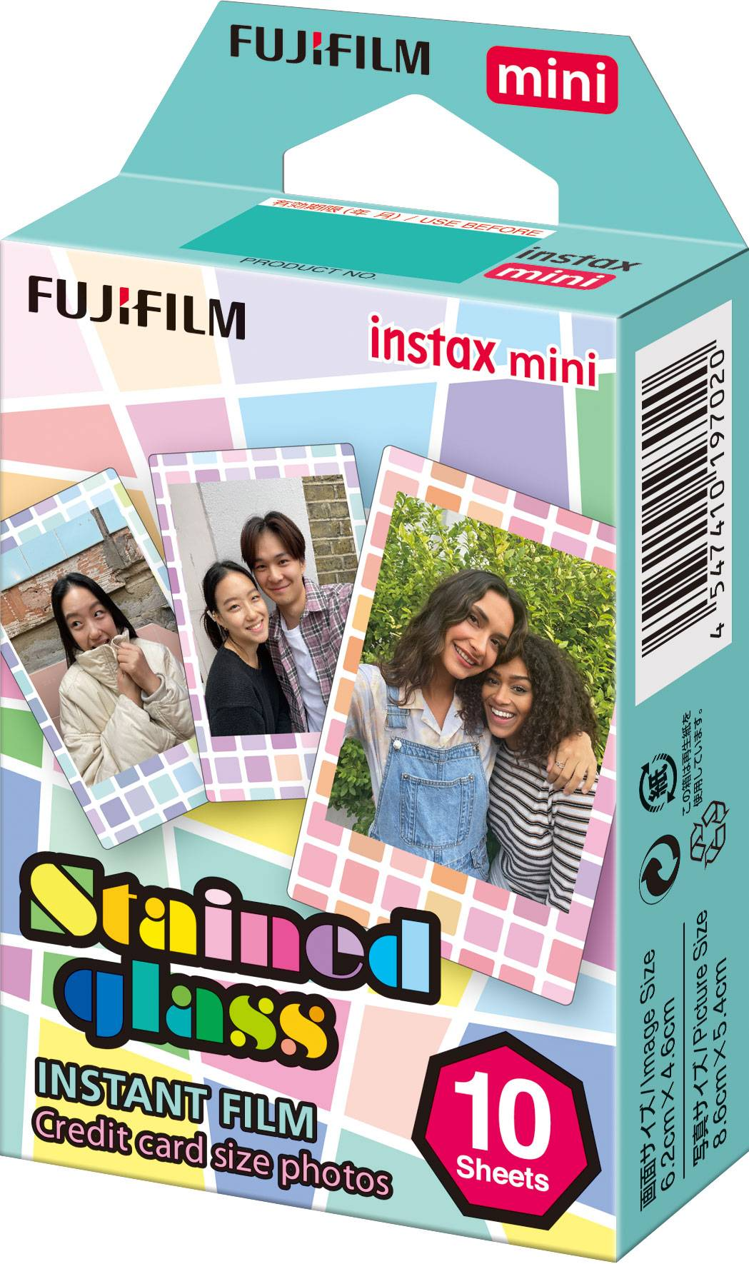Fujifilm Instax Mini Stained Glass (10 Poses)