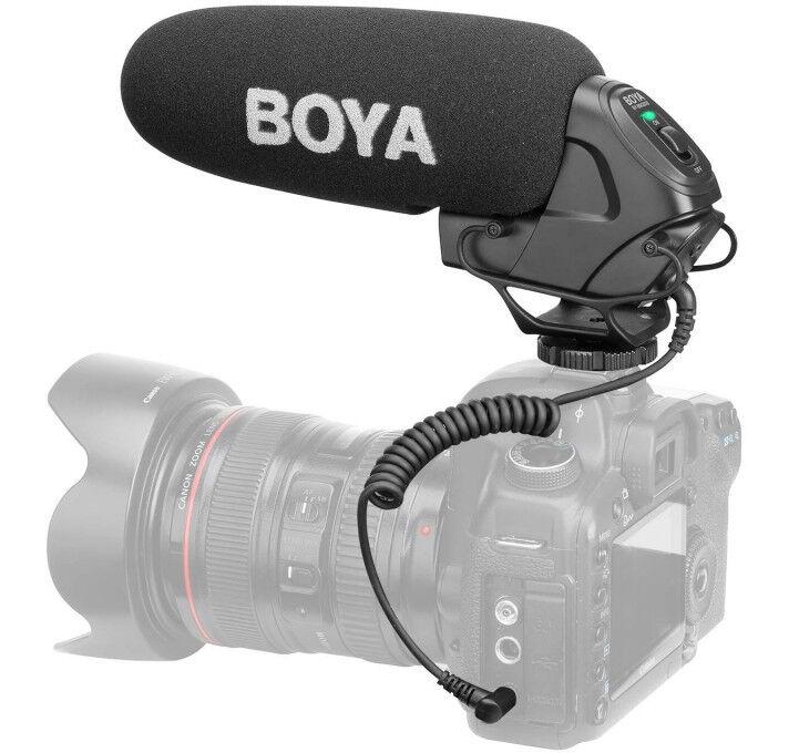BOYA BM3030 Micro-Canon à Condensateur Super-Cardioïde