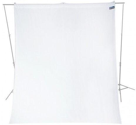 WESTCOTT X-Drop Fond Blanc Wrinkle (2.7m X 6m)