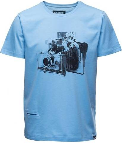 COOPH T-Shirt Homme Fidelaroid Ethereal Blue Taille L