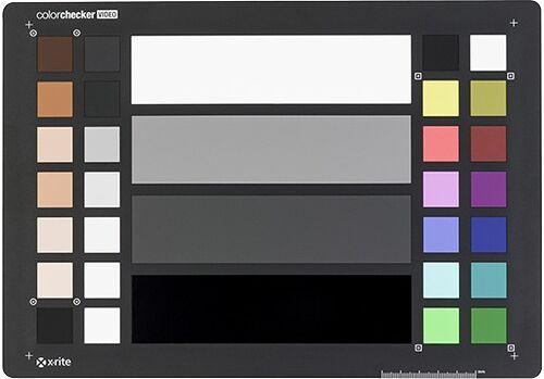 X-RITE Color Checker Video