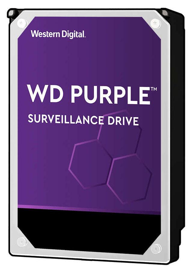 Western Digital Disque Dur Interne 8To (5400RPM) 256Mo Purple