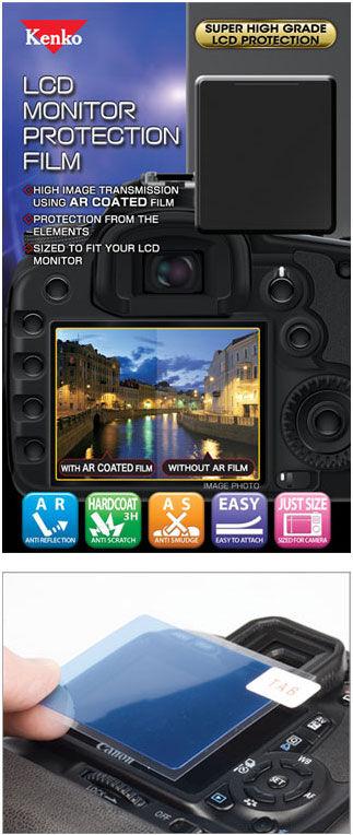 Kenko Protège Ecran LCD pour Olympus Pen-F