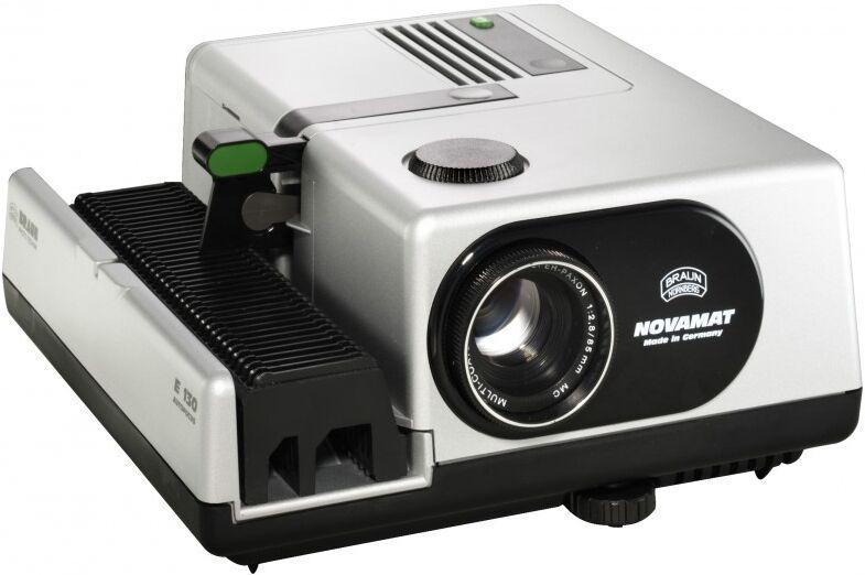 Braun Projecteur de Diapositive Novamat E130