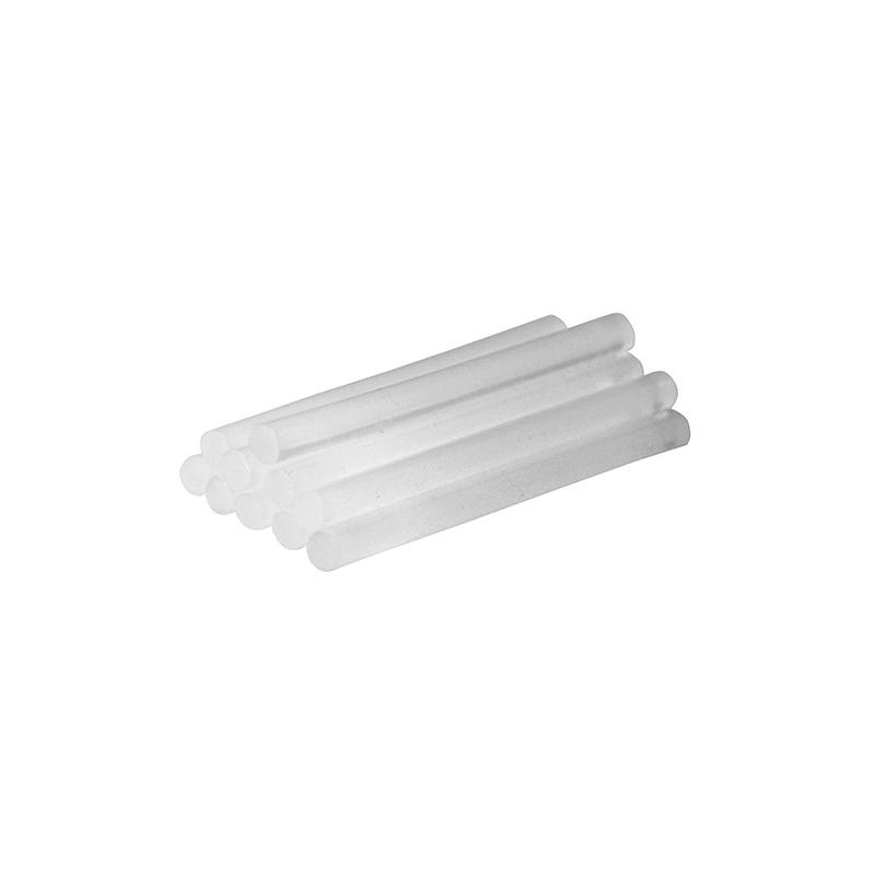 Silverline 10 batons de colle 7,2 x 100 mm pour mini pistolet