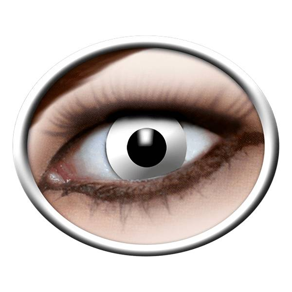 Bach Optic Lentilles blanches (White Zombie)