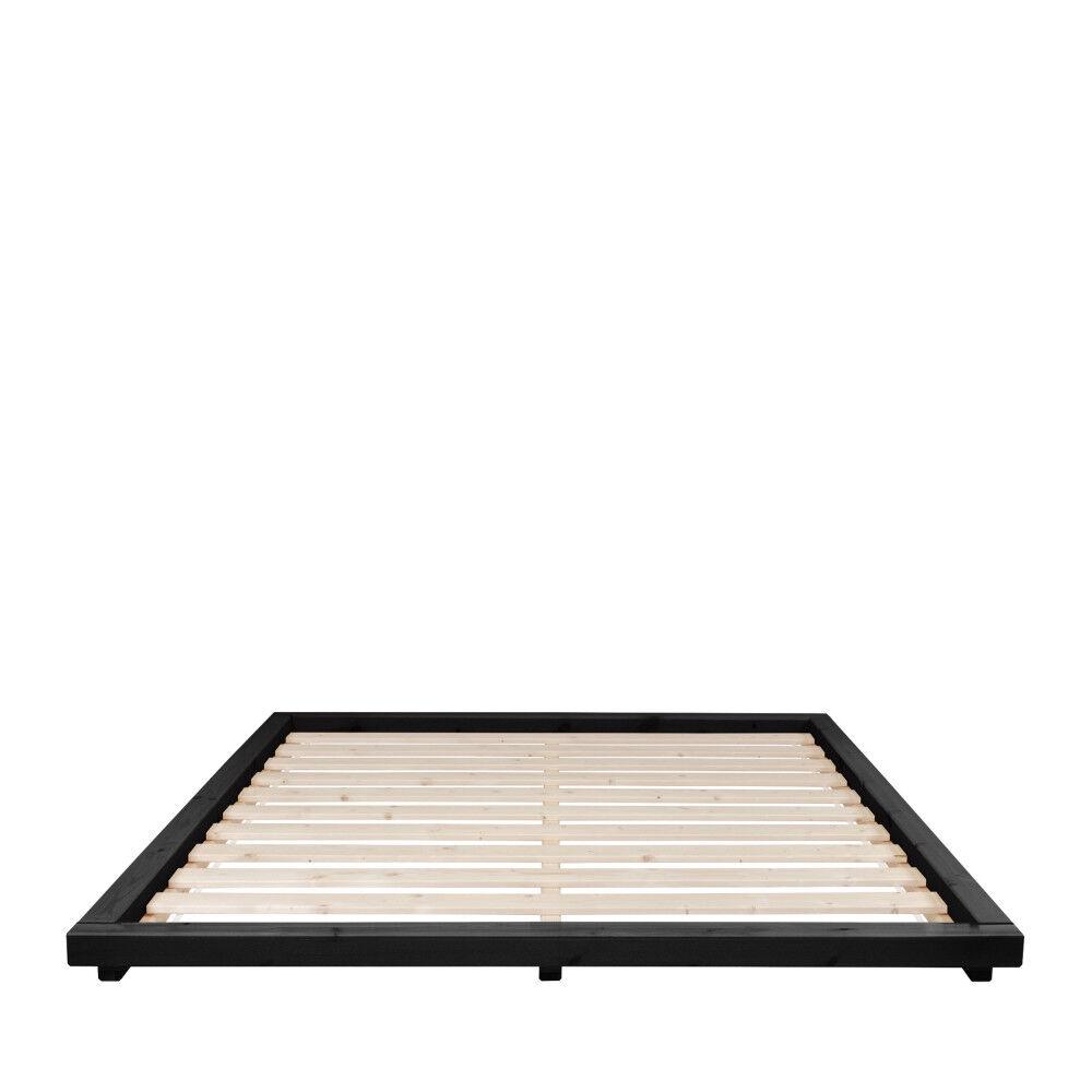 Karup Design Dock - Lit en bois 180x200cm - Couleur - Noir
