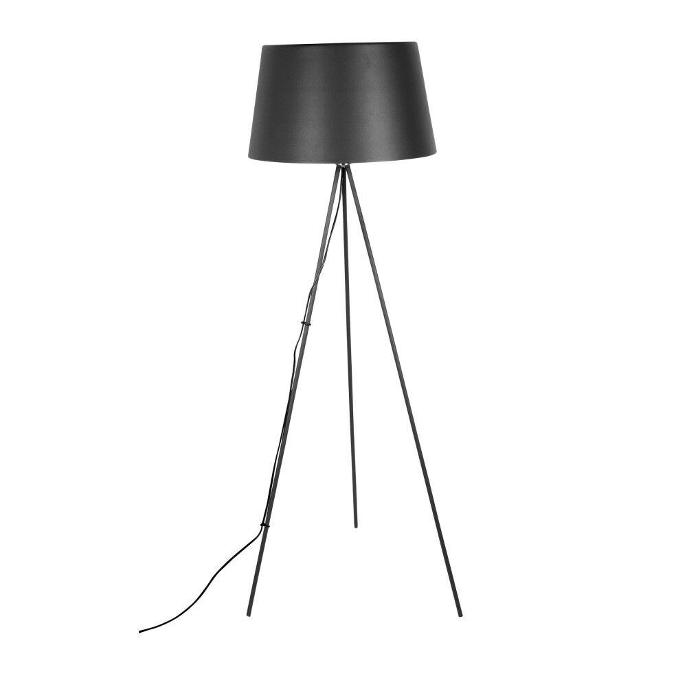 Leitmotiv Classy - Lampadaire en métal - Couleur - Noir