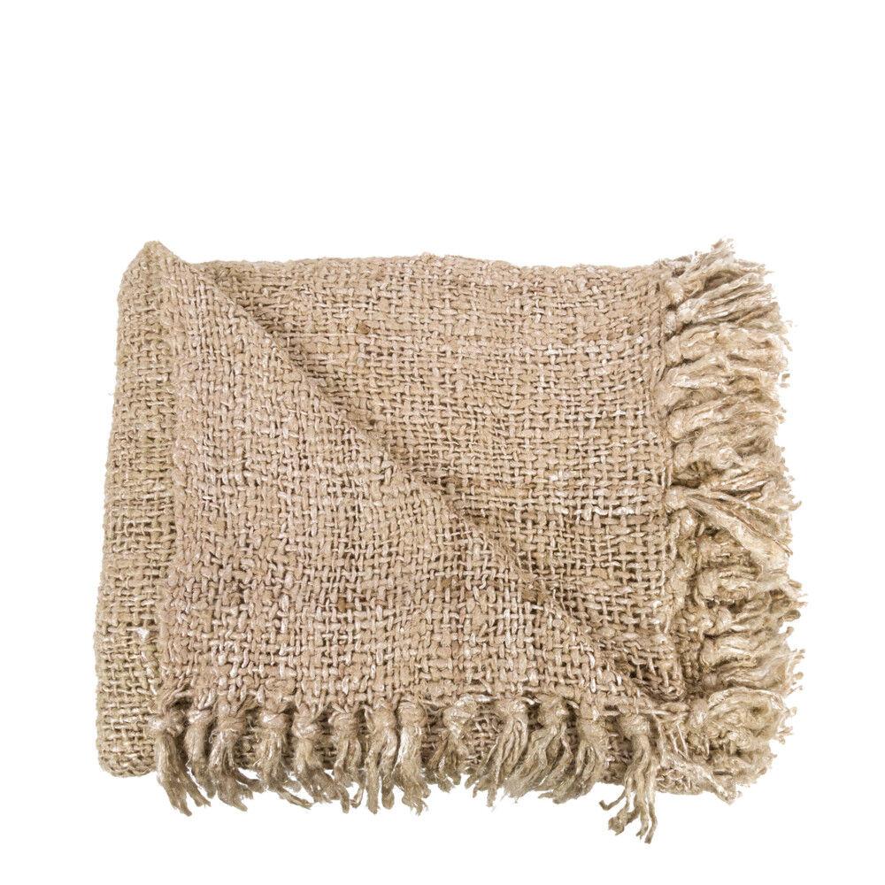 Bazar Bizar S'il vous plaid - Plaid en coton 130x170cm