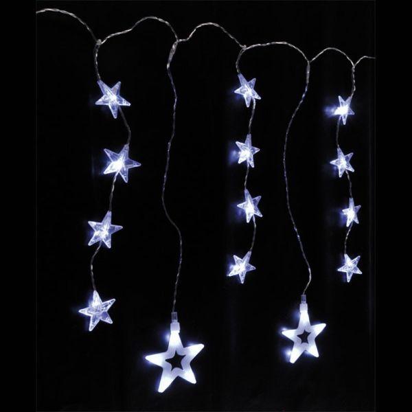 H International Rideau étoile blanc chaud