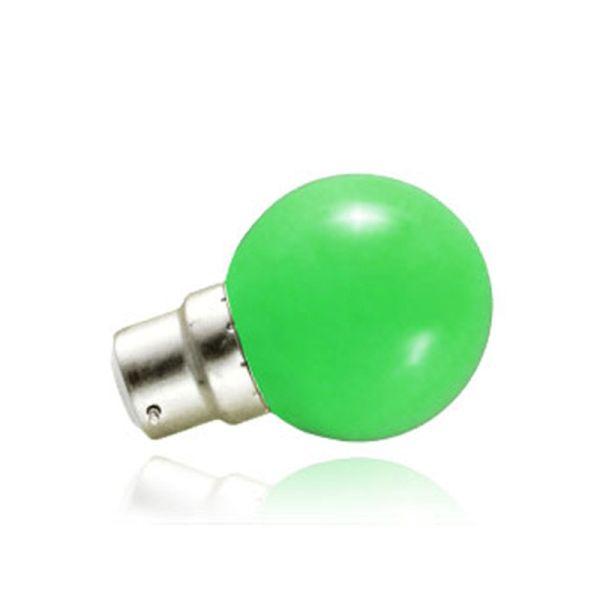 Vision-EL Ampoule LED B22 Vert 1W