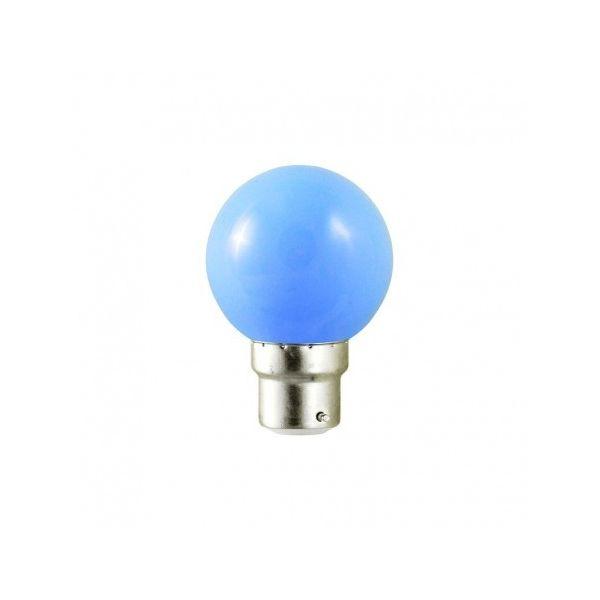 Vision-EL Ampoule Led Bleu 1W (9W) B22