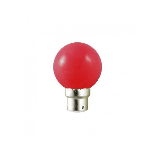 Vision-EL Ampoule Led Rouge 1W B22 (9W)