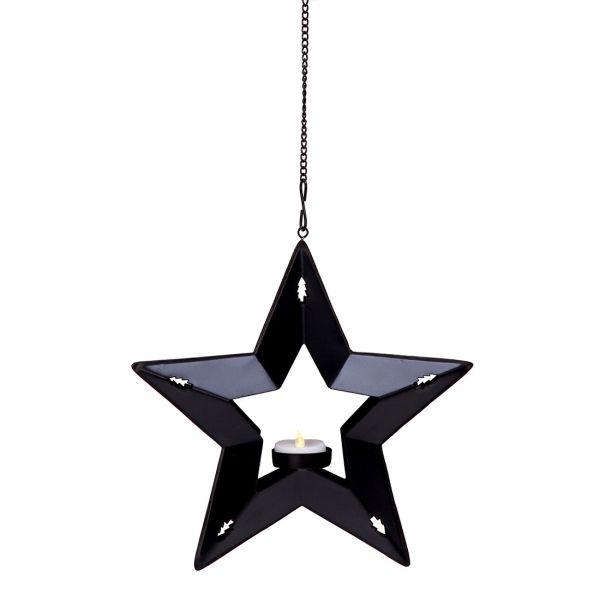 STAR Photophore bougie LED étoile