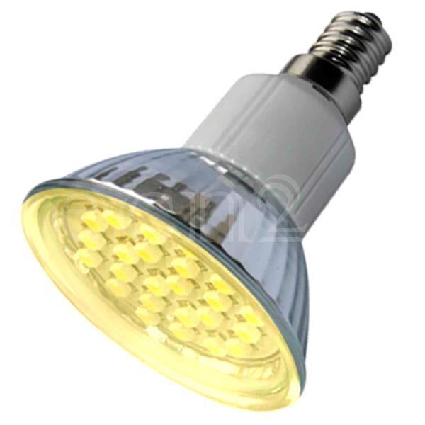LEDGalaxy Ampoule E14 à 24 LED 1,5W blanc chaud
