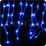 fdl  FDL Guirlande stalactite LED 8m, lumière statique bleu '-Un magnifique... par LeGuide.com Publicité