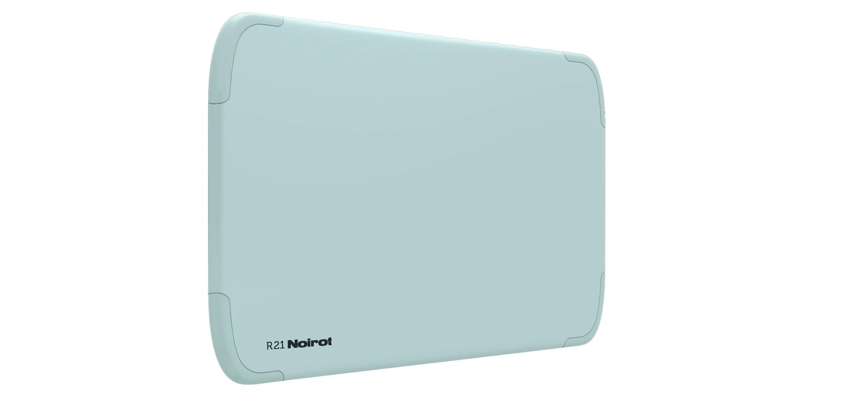 Noirot Antichocs R21 6 ordres digital Noirot 1500W Horizontal Blanc