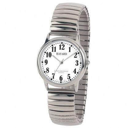 Bayard Montre étanche bracelet extensible pour femme