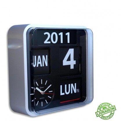 Orium Horloge calendrier grands chiffres Orium