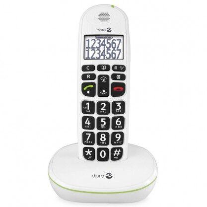 Doro téléphone Phone Easy 110 blanc ou noir