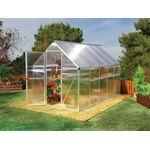 habitat et jardin  Habitat et Jardin Serre en polycarbonate Multiline 5.6m2... par LeGuide.com Publicité